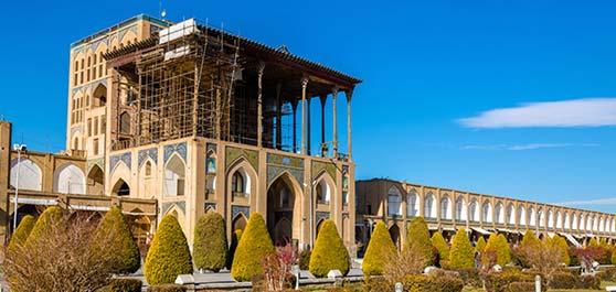 کاخ عالی قاپو - اصفهان