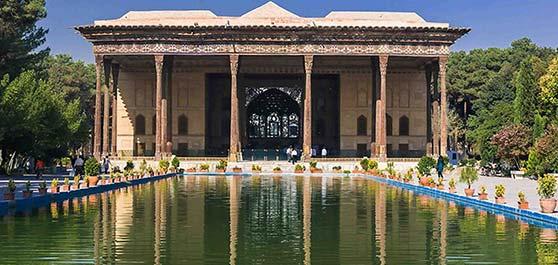 کاخ چهل ستون - اصفهان