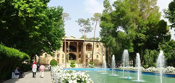 کاخ هشت بهشت - اصفهان